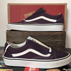 Vans Old Skool Nightshade/White Shoes Women's